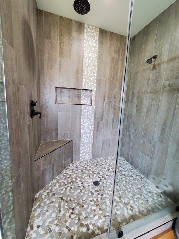 Melissa Hewitt Barndominium Shower Room