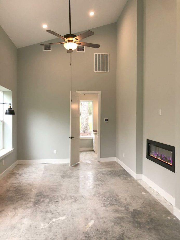 Magnolia TX barndominium interior