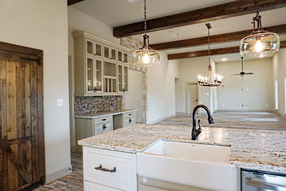 Brazoria County barndominium interior