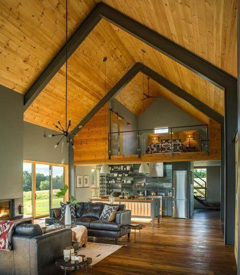 barndominium vs house interior