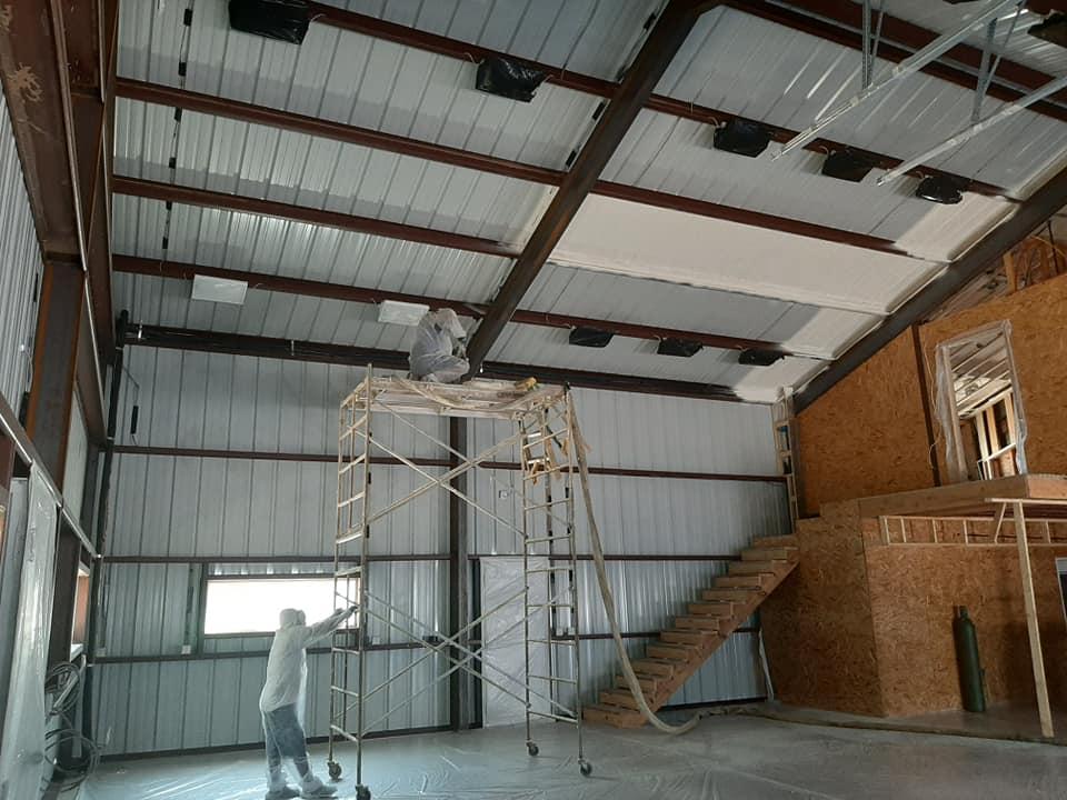 Barndominium metal frame construction