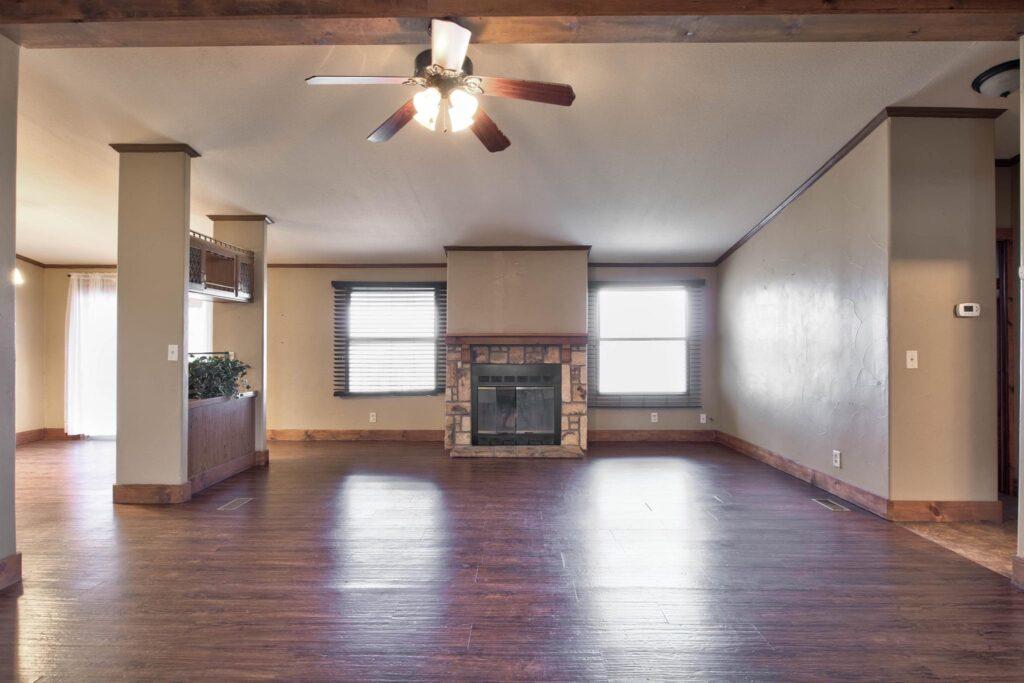 weatherford barndominium interior
