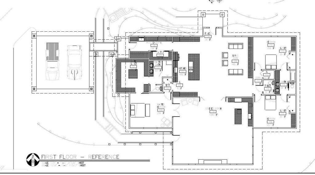 Odom family Florida barndominium floor plan