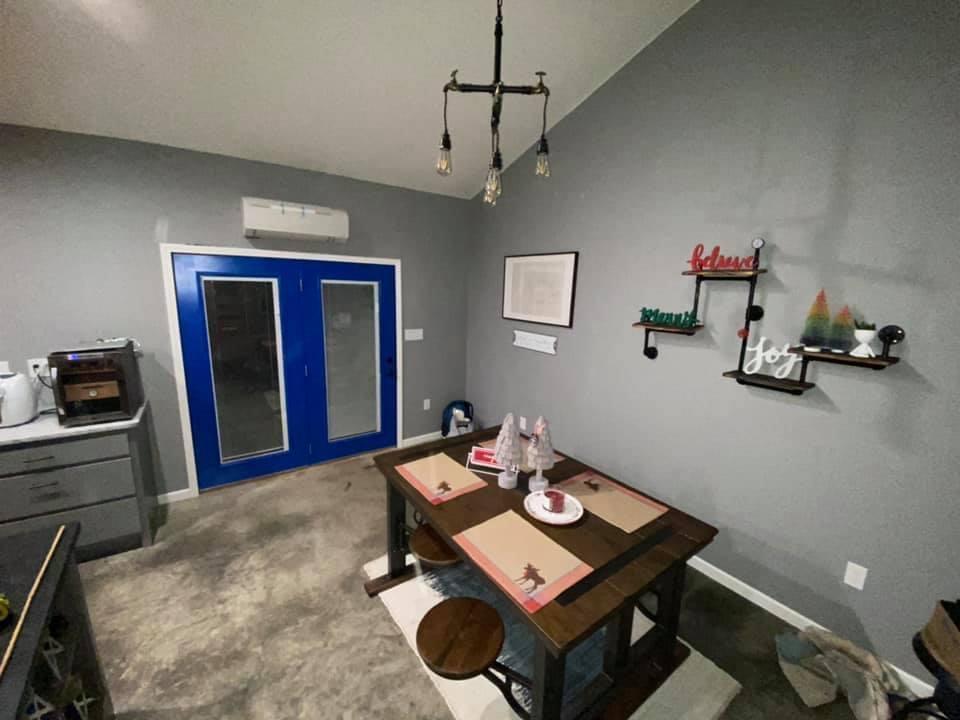 kansas barndominium interior