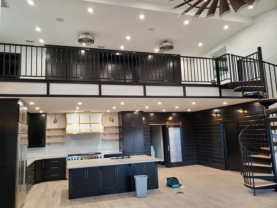 east texas barndominium interior