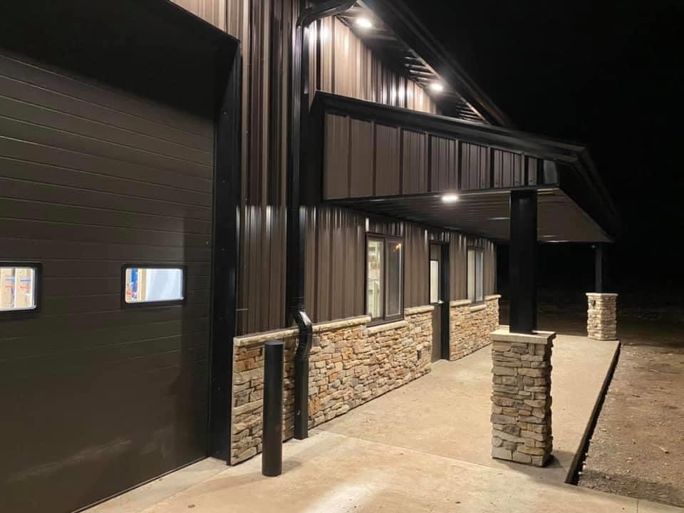 Missouri barndominium exterior