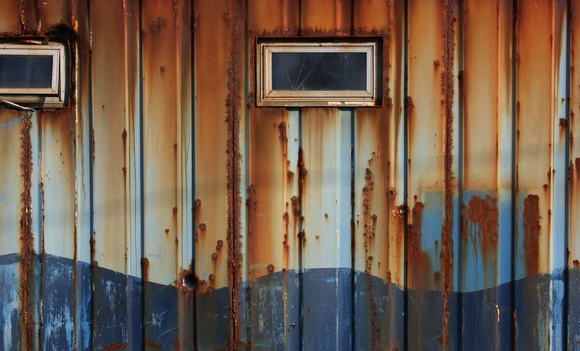 Metal siding rust