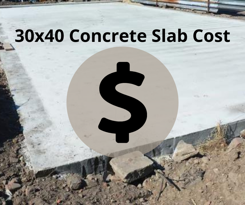 30x40 Concrete Slab Cost