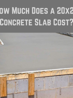 How Much Does a 20x20 Concrete Slab Cost?