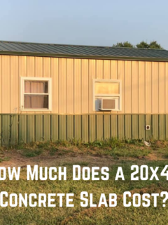 How Much Does a 20x40 Concrete Slab Cost