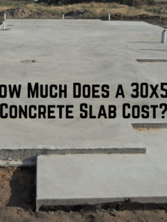 How Much Does a 30x50 Concrete Slab Cost?