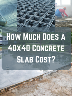 How Much Does a 40x40 Concrete Slab Cost?