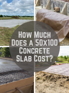 How Much Does a 50x100 Concrete Slab Cost