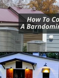 How to Cool a Barndominium