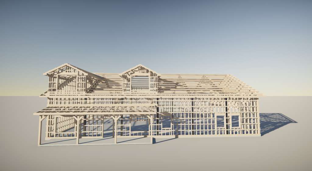 Engineered drawings to prepare for building the barndominium