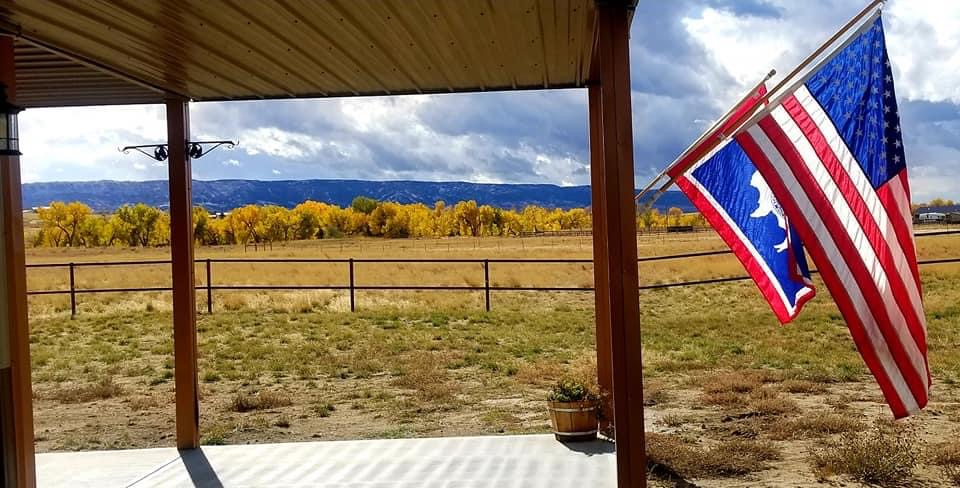 Beautiful Wyoming Barndominum for Horse Lovers by the Timothy Family with lovely views