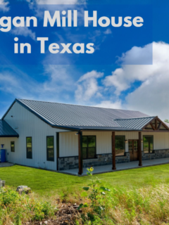 Morgan Mill House in Texas