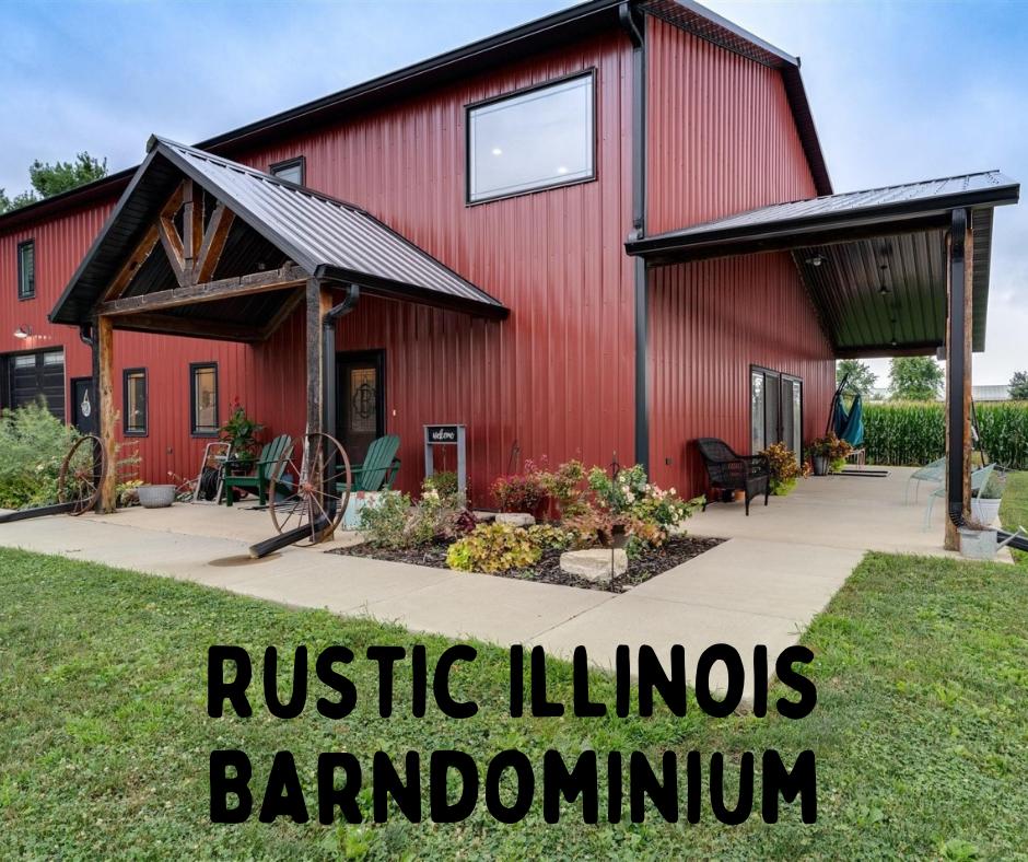 Rustic Illinois Barndominium